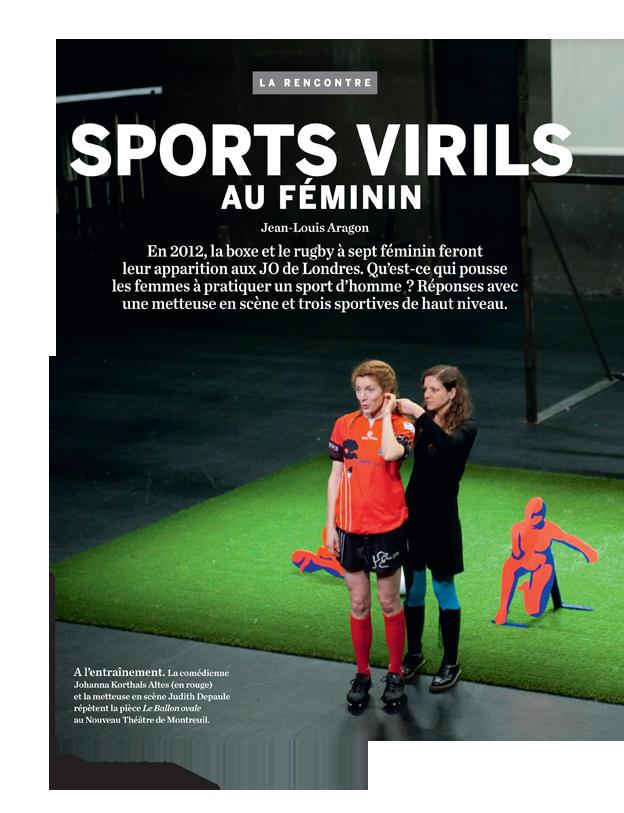 Sports virils au féminin - Le Monde